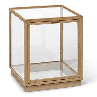 ferm LIVING Miru Glass Montre - Natural Oak