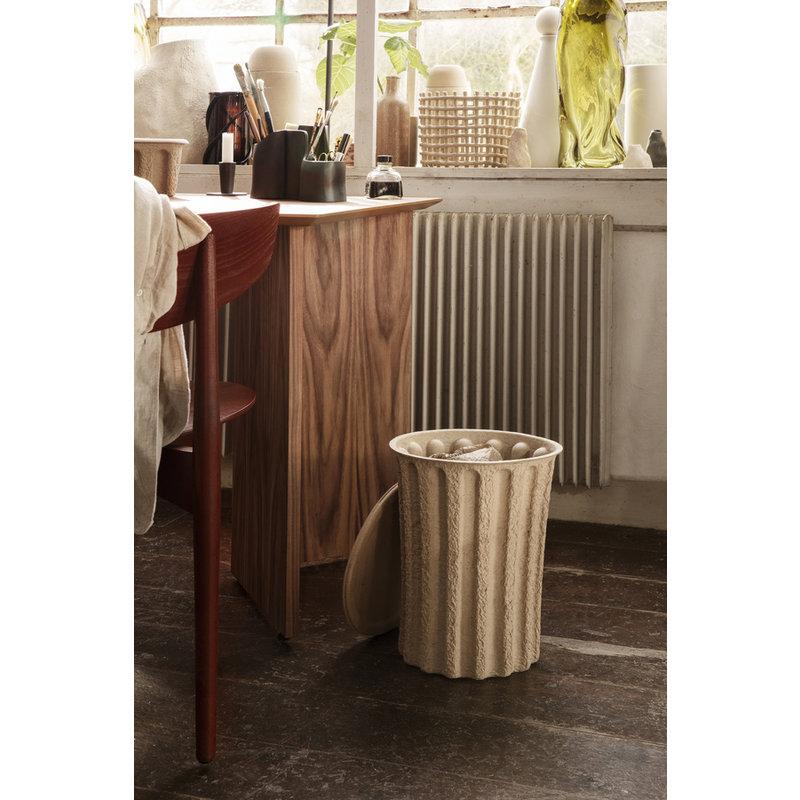 ferm LIVING-collectie Papier prullenbak / opberger bruin