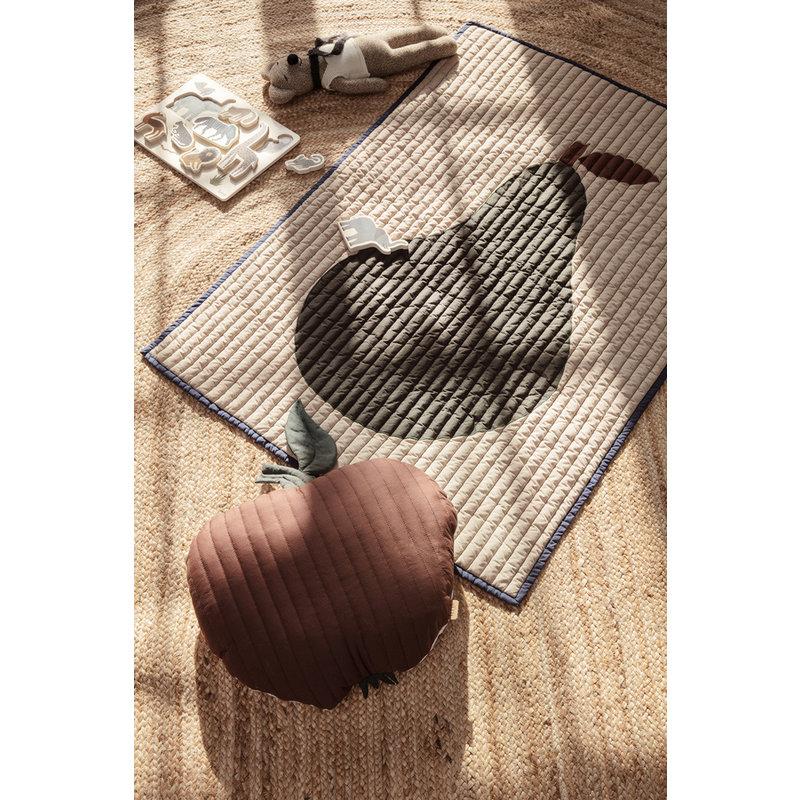 ferm LIVING-collectie  Quilt deken Peer  zand