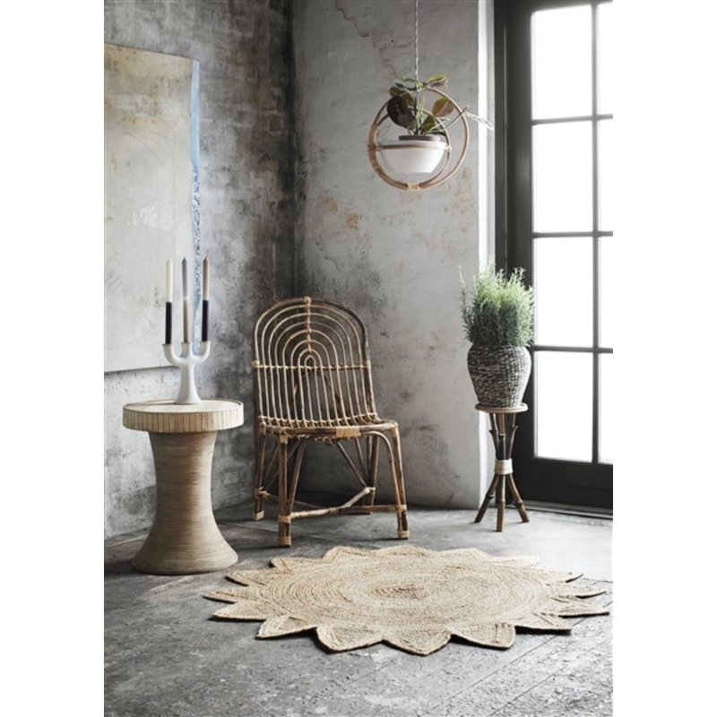 Madam Stoltz-collectie Bamboo side table - Natural
