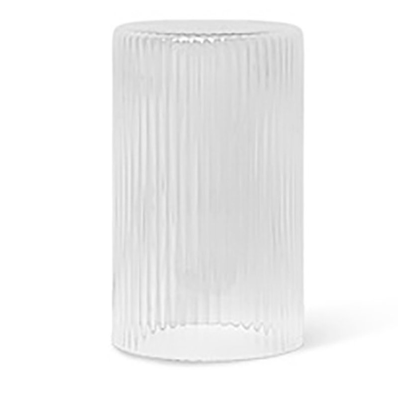 ferm LIVING-collectie Ripple Lid - Clear