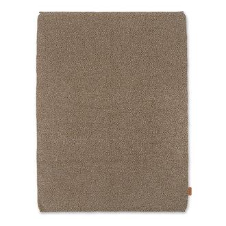 ferm LIVING Roy Merino Wool Blanket - Sugar Kelp Mel