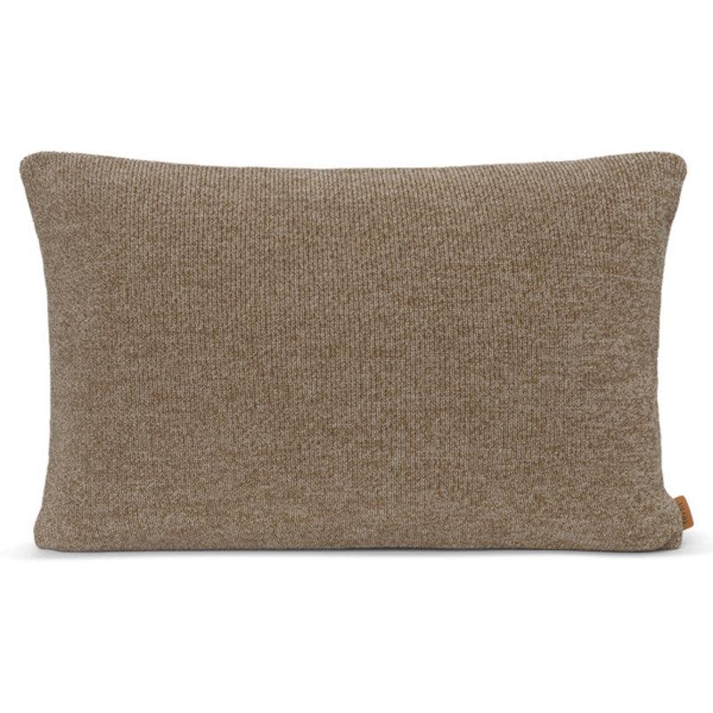 ferm LIVING-collectie Roy Merino Wool Cushion - Sugar Kelp Mel