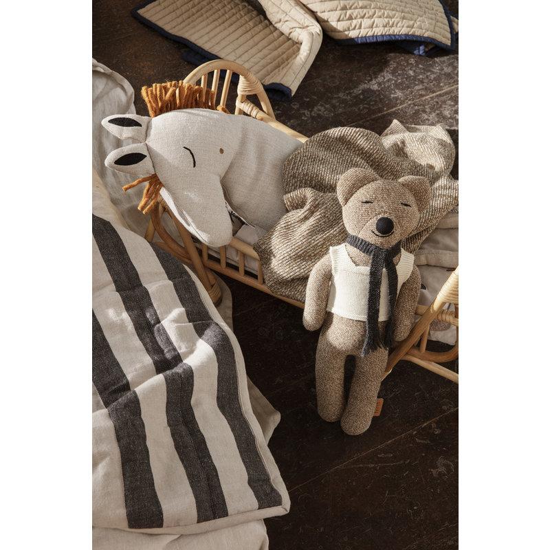 ferm LIVING-collectie Roy Merino Wool Teddy - Sugar Kelp Mel