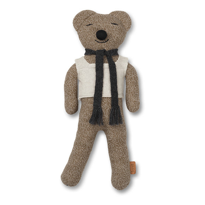 ferm LIVING-collectie Teddybeer Roy Merino Wol Sugar Kelp Melange