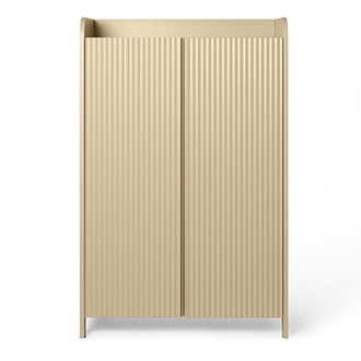 ferm LIVING Sill Cupboard Low - Cashmere