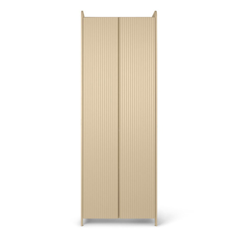 ferm LIVING-collectie Sill Cupboard Tall - Cashmere