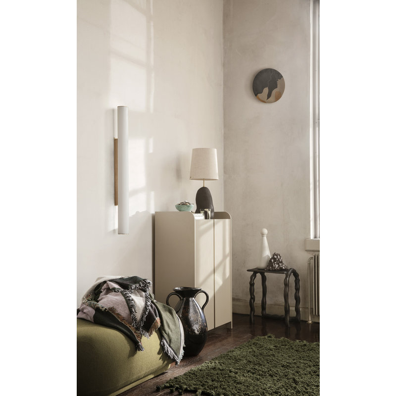 ferm LIVING-collectie Sill Cupboard Low - Cashmere