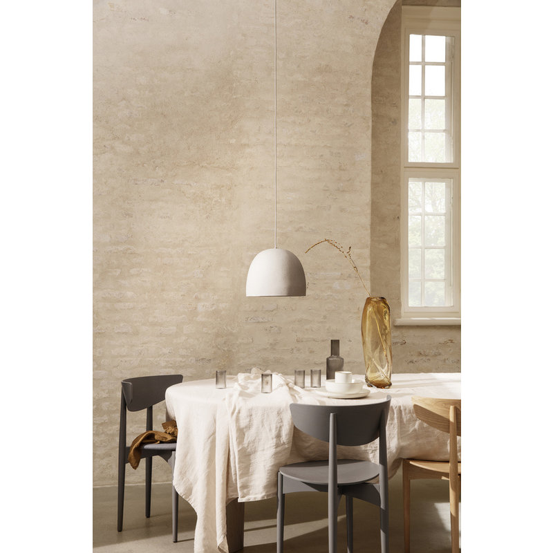 ferm LIVING-collectie Hanglamp Speckle Off-White - groot 30,5x24,9 cm