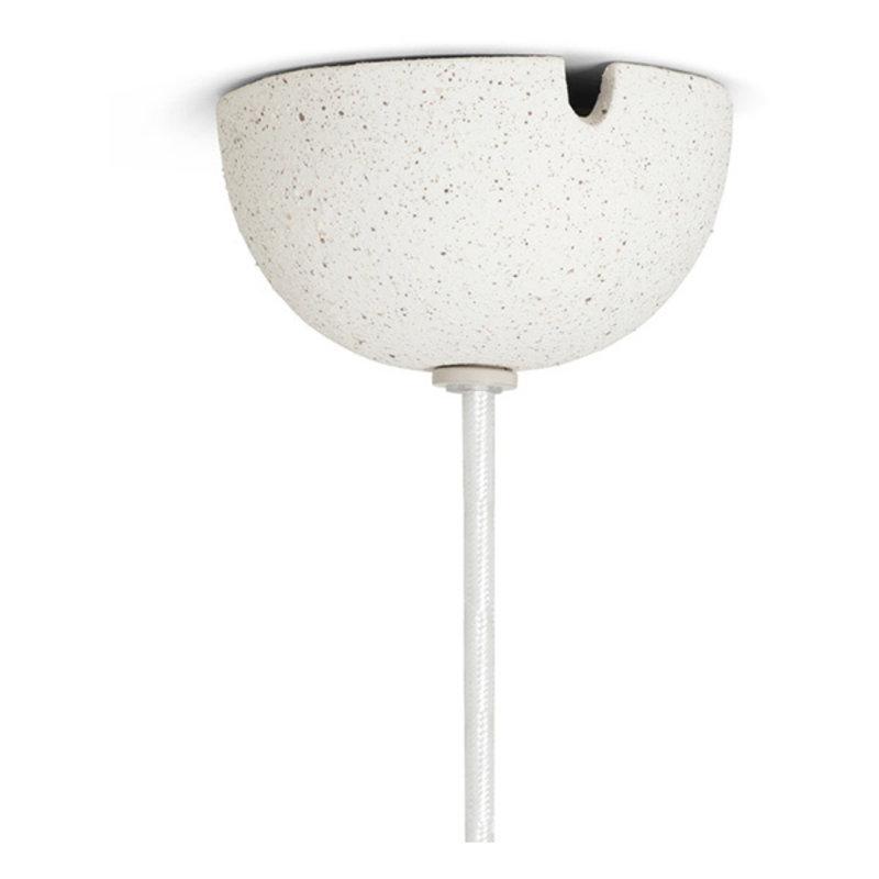 ferm LIVING-collectie Speckle Pendant - Large - Off-White