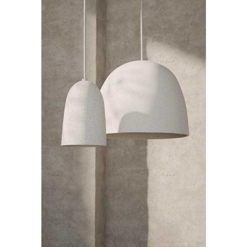 ferm LIVING-collectie Hanglamp Speckle Off-White - klein 11,6 x 18,3  cm cm