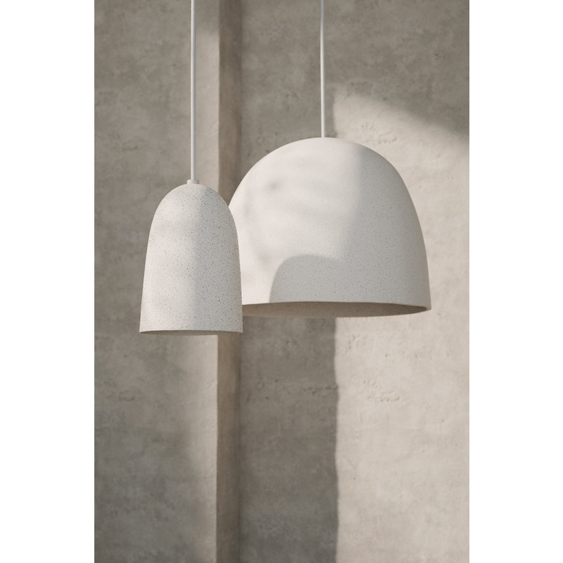ferm LIVING-collectie Speckle Pendant - Small - Off-White