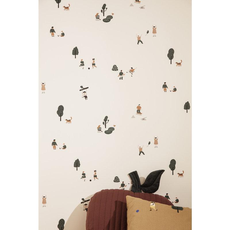 ferm LIVING-collectie The Park Wallpaper