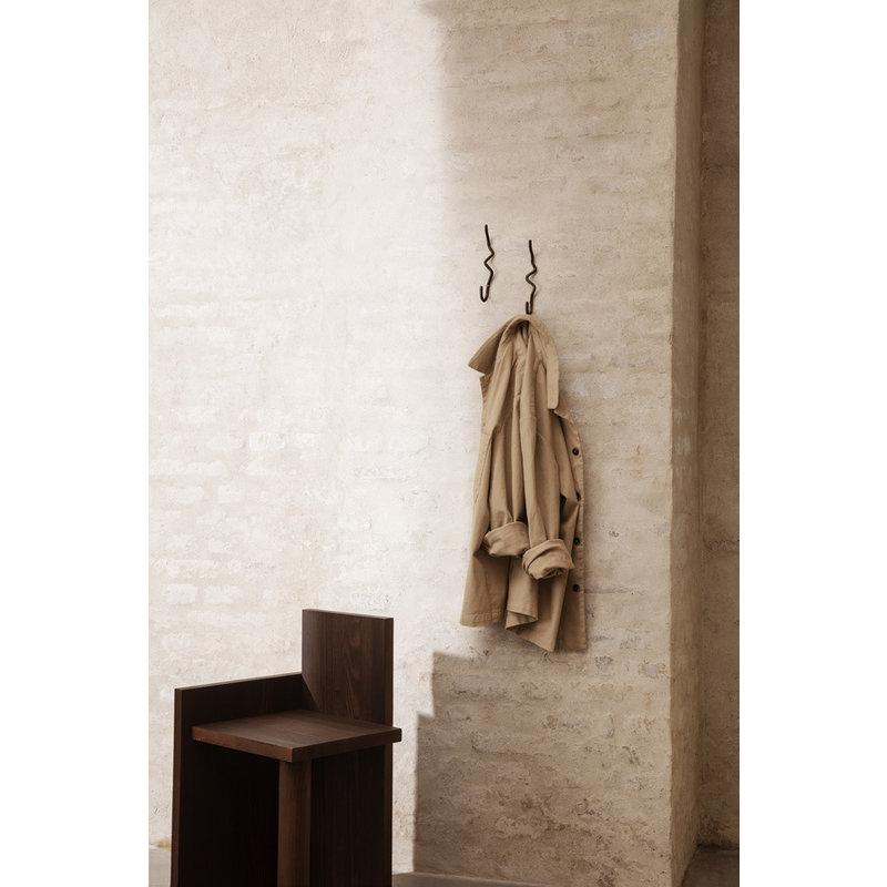 ferm LIVING-collectie UTA Piece - Dark Oiled Pinewood