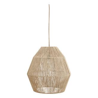 Madam Stoltz Jute ceiling lamp - Natural