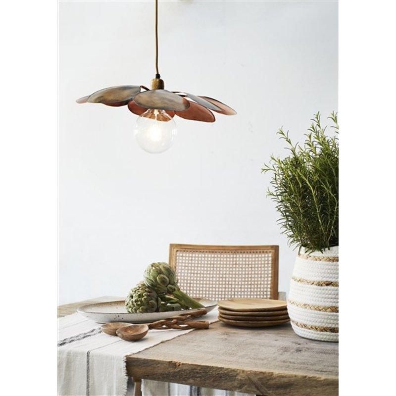 Madam Stoltz-collectie Iron ceiling lamp - Ant.copper