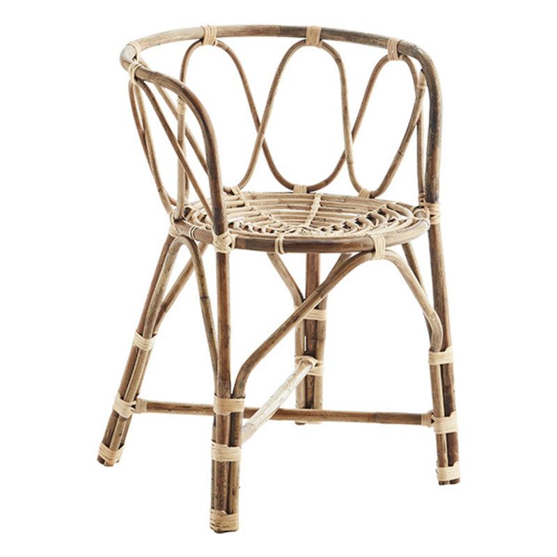 Madam Stoltz-collectie Bamboo chair - Natural