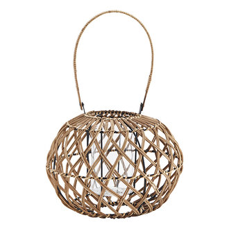 Madam Stoltz Bamboo lantern - Natural
