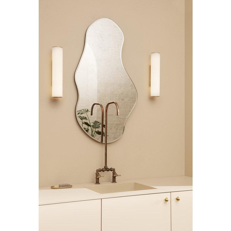 ferm LIVING-collectie Vuelta Wall Lamp 40-White/Brass