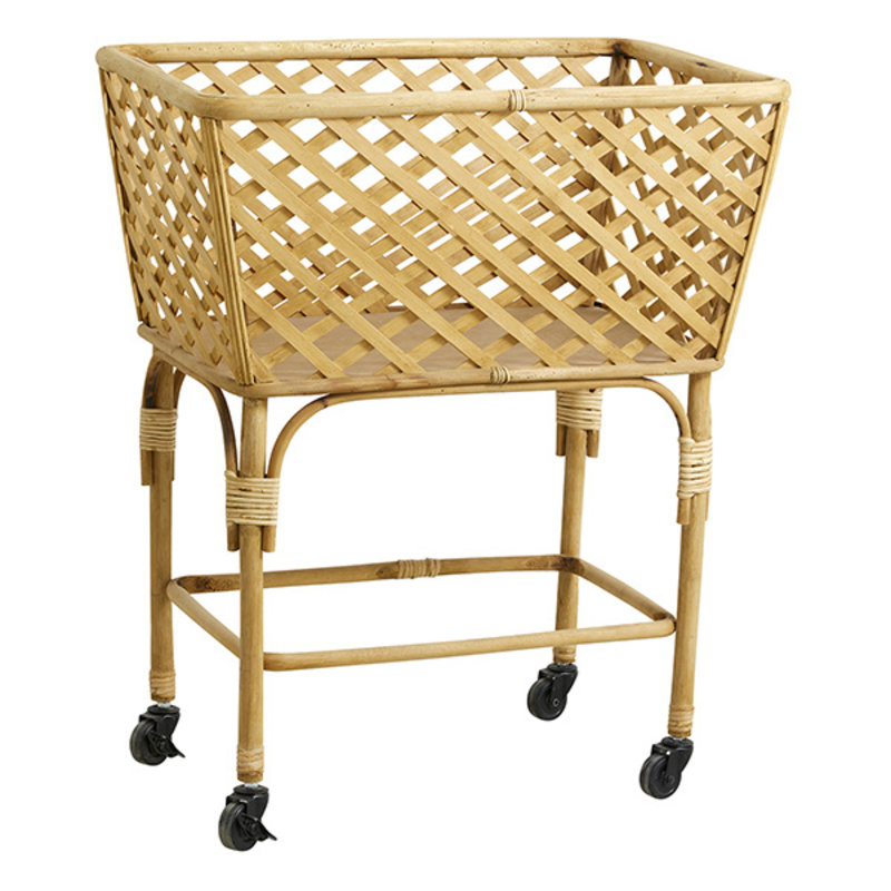 Nordal-collectie ARVI square trolley basket, nature