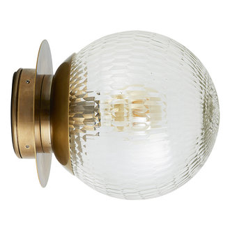 Nordal Wandlamp outdoor ZEUS goud