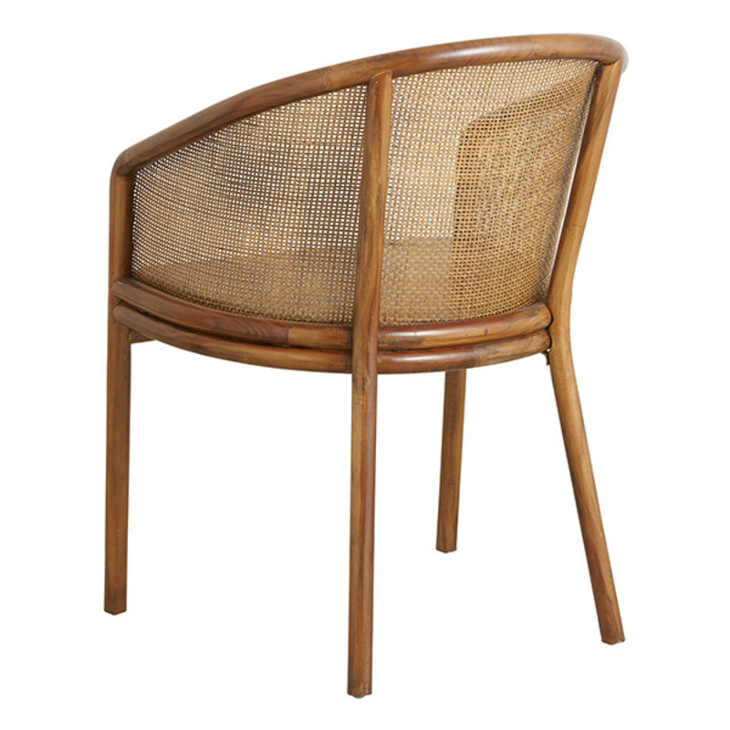 Nordal-collectie MOSSO dinner chair, light brown