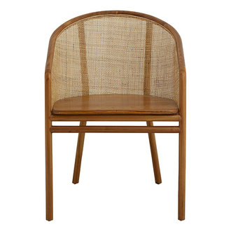 Nordal MOSSO dinner chair, light brown