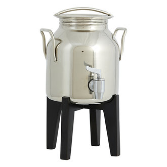 Nordal FATALI, olive oil container w/black base