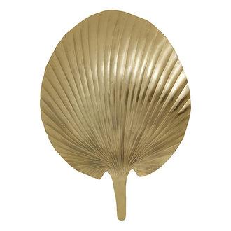 Nordal Wandlamp GRO metaal goud