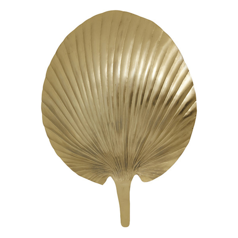 Nordal-collectie GRO wall lamp, golden metal
