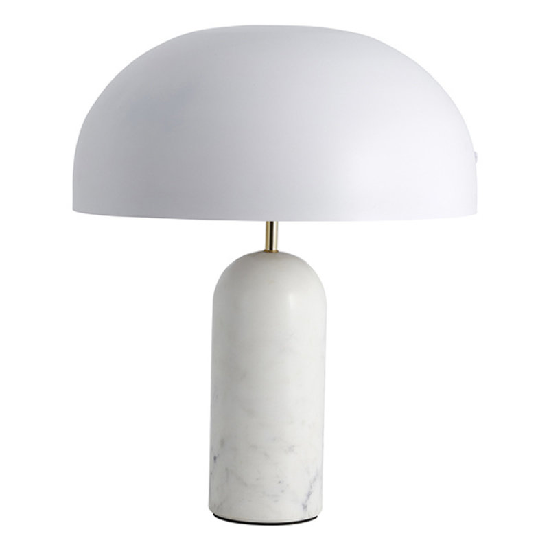Nordal-collectie ATLAS table lamp w/white marble