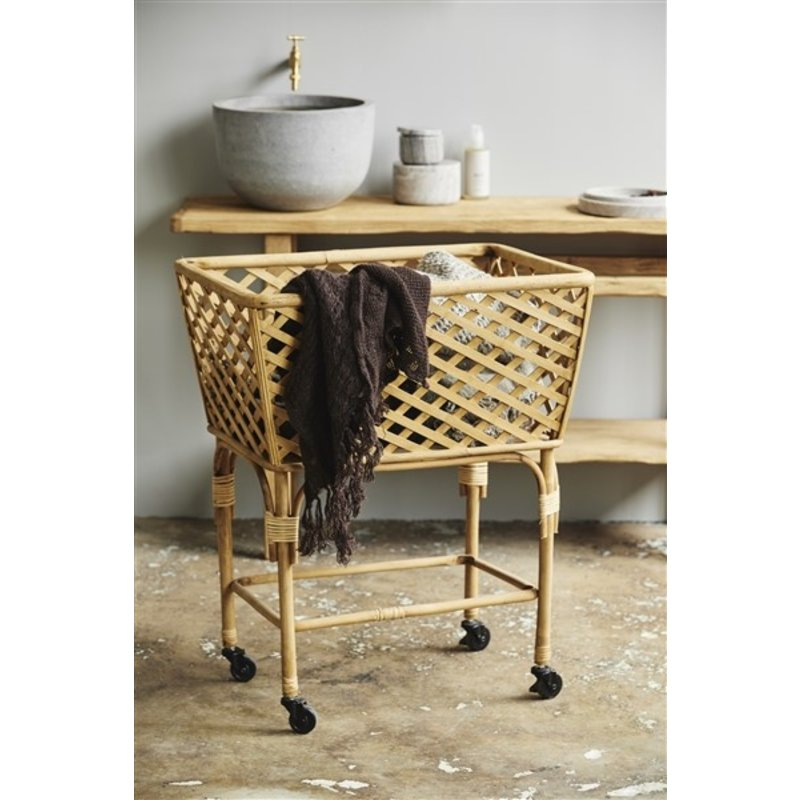 Nordal-collectie Bamboe trolley ARVI naturel