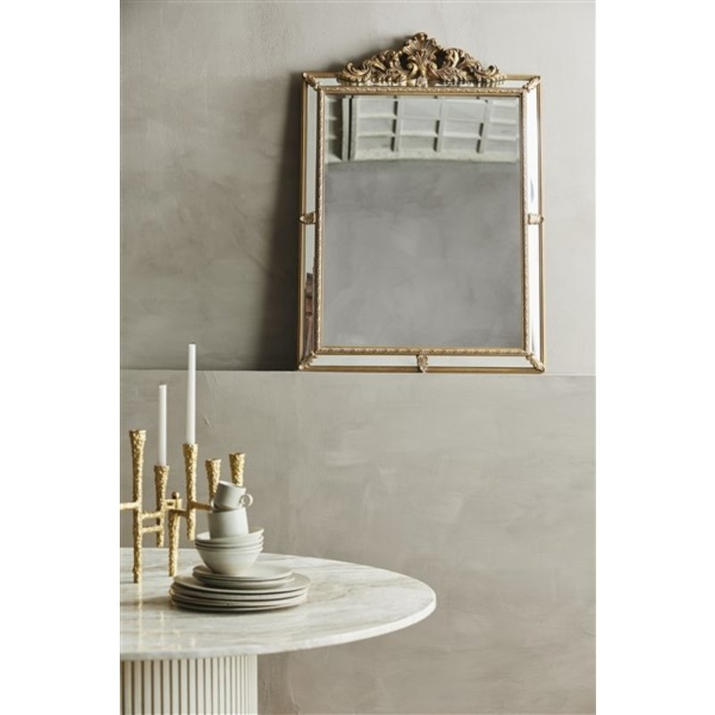 Nordal-collectie VAILA candle holder, gold, f/9 candles