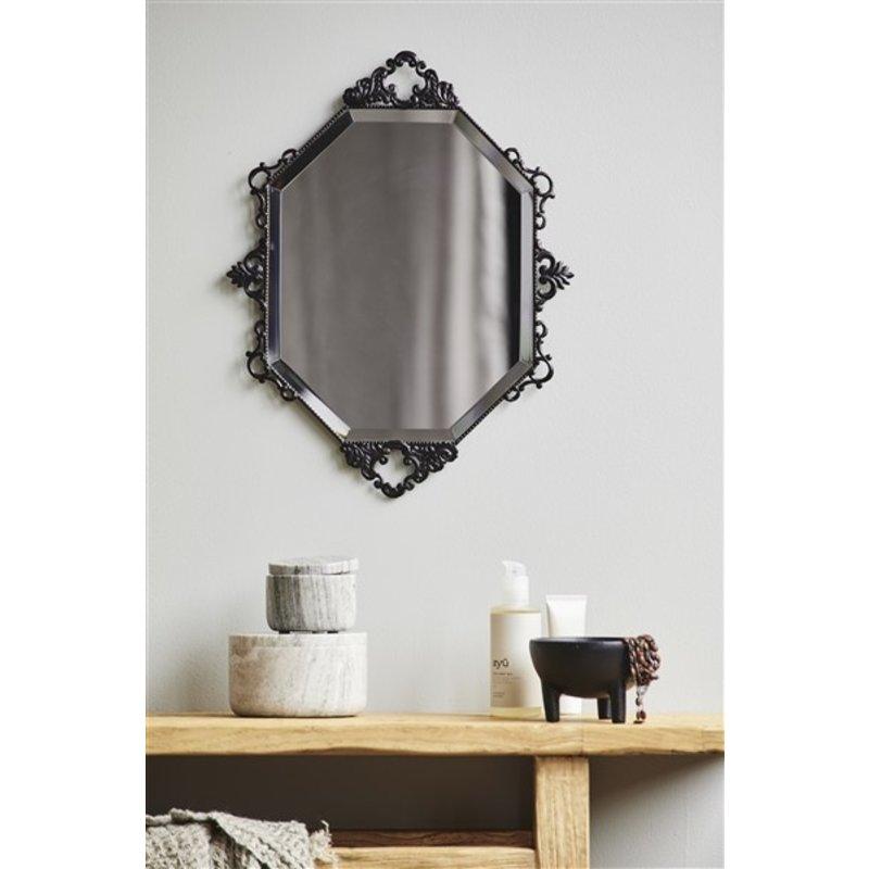 Nordal-collectie LARUS wall mirror, black