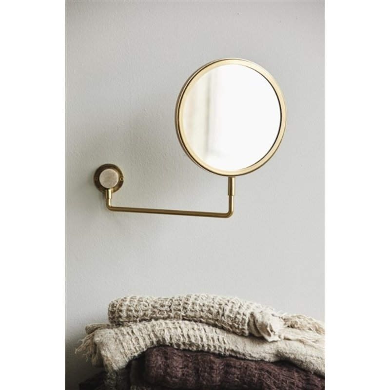 Nordal-collectie TESIA wall mirror, golden