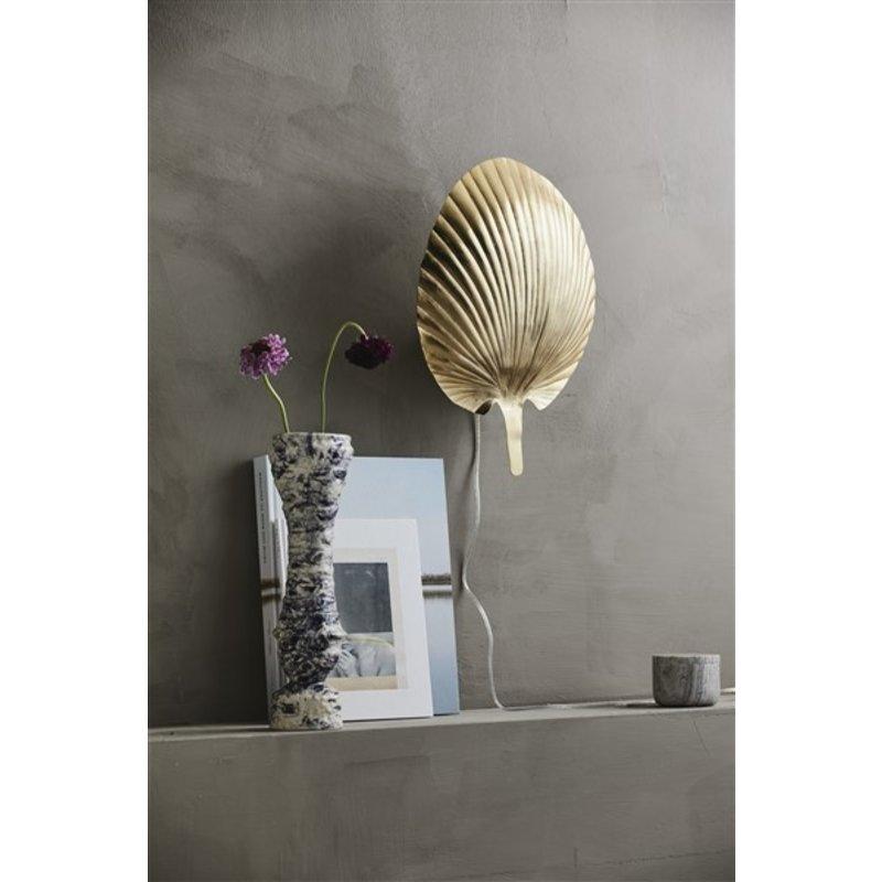 Nordal-collectie Wandlamp GRO metaal goud