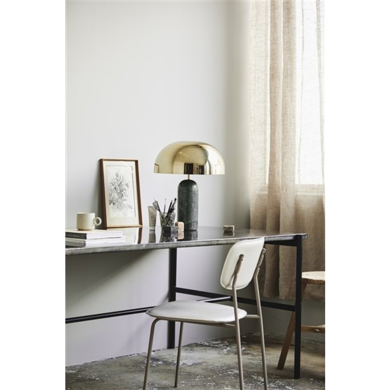 Nordal-collectie SESIA dining table, shiny black