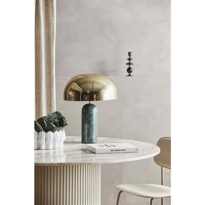 Nordal-collectie ATLAS table lamp w/green marble