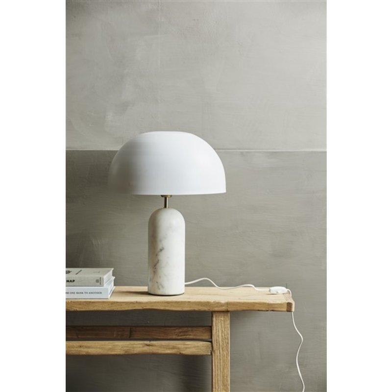 Nordal-collectie Tafellamp ATLAS wit