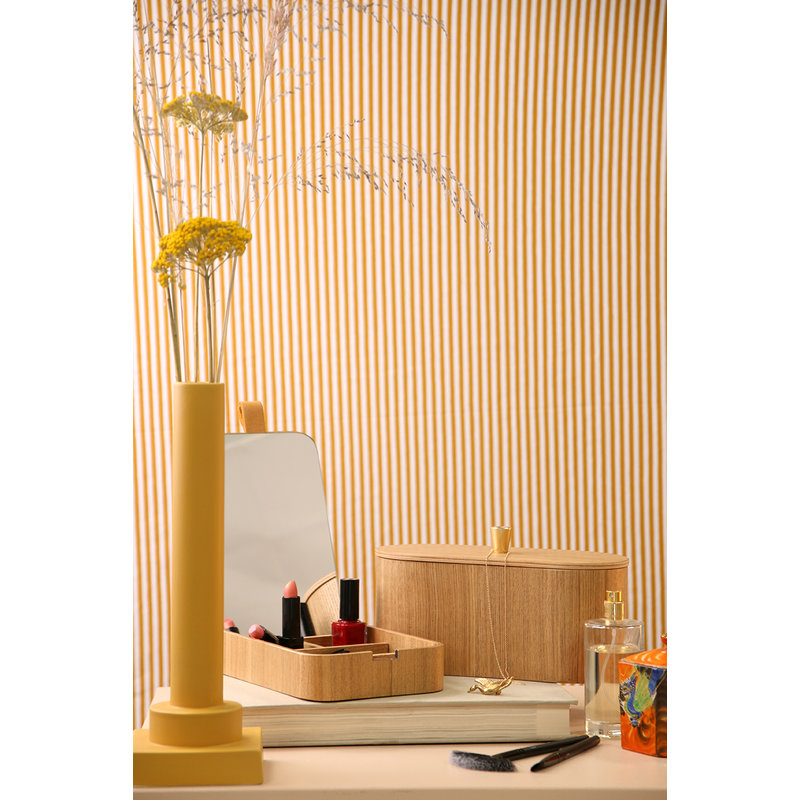 HKliving-collectie willow wooden mirror box