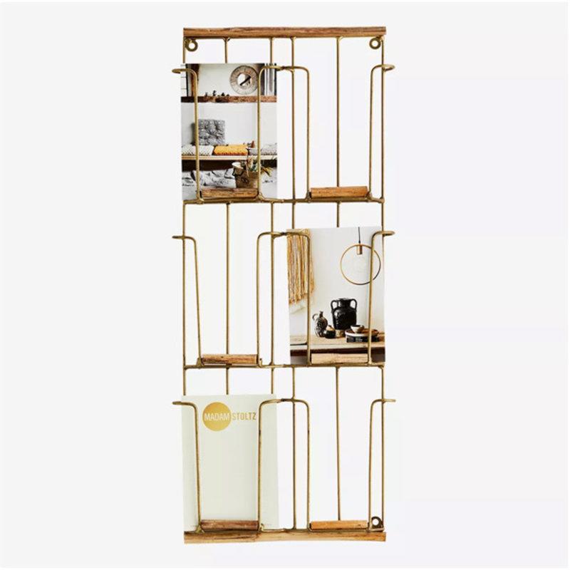 Madam Stoltz-collectie Kaartenrek antique copper -S-