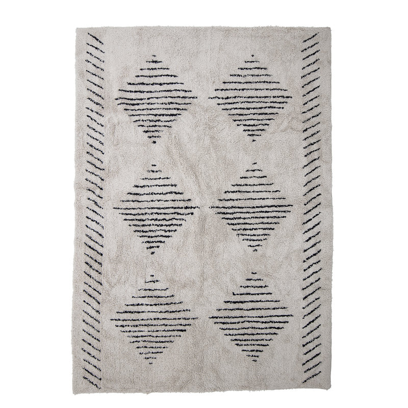 Bloomingville-collectie Jegor Rug Nature Cotton