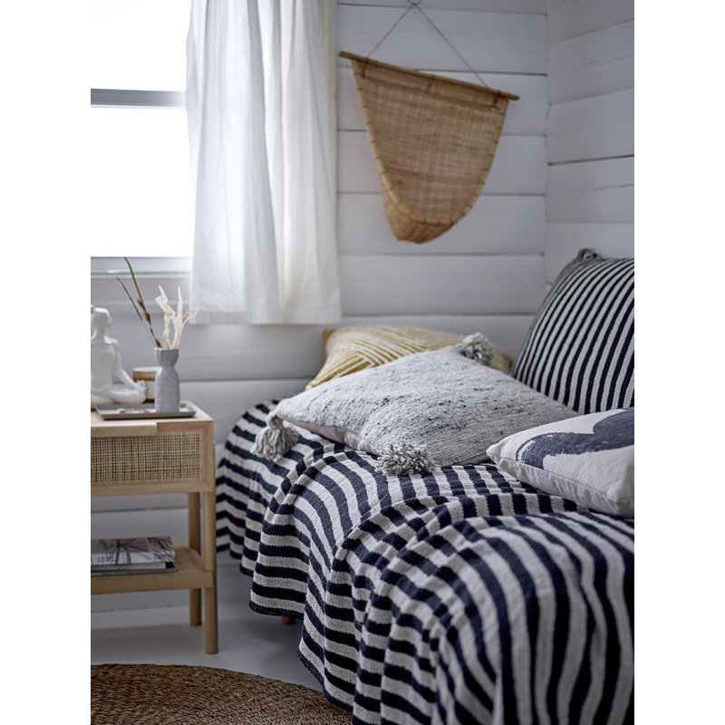Bloomingville-collectie Ebell Cushion White Cotton