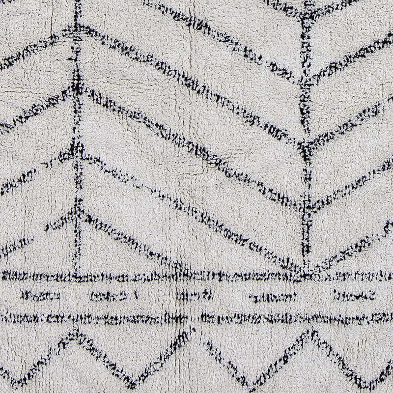 Bloomingville-collectie Oiva Rug Nature Cotton