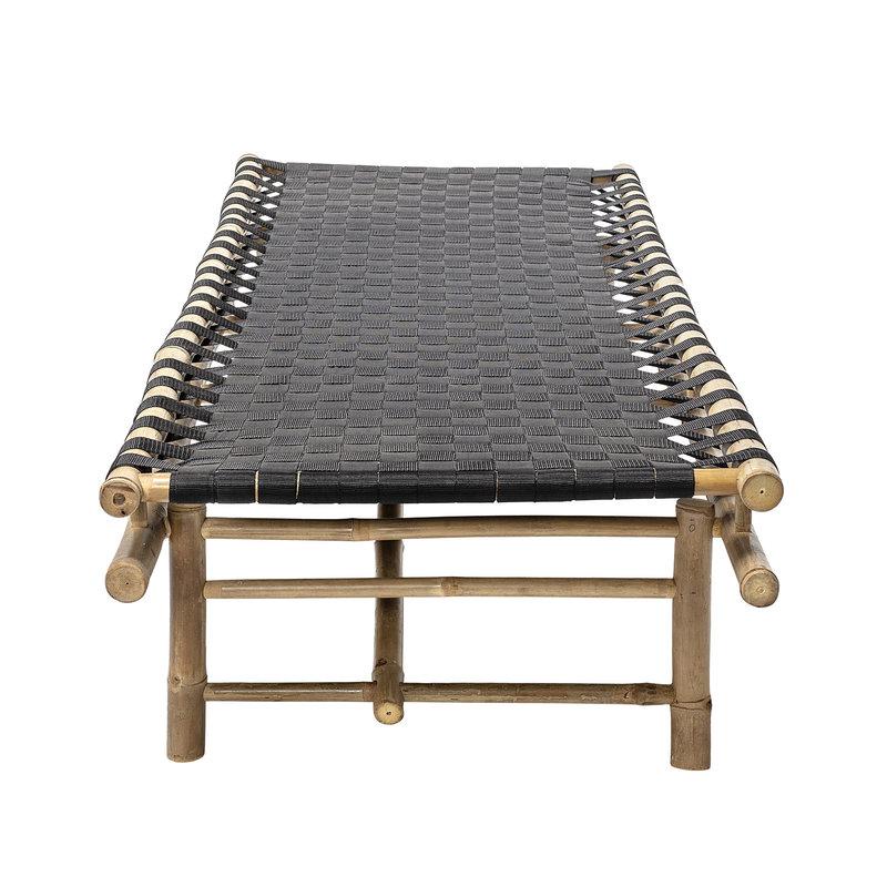 Bloomingville-collectie Daybed Vida bamboe - zwart