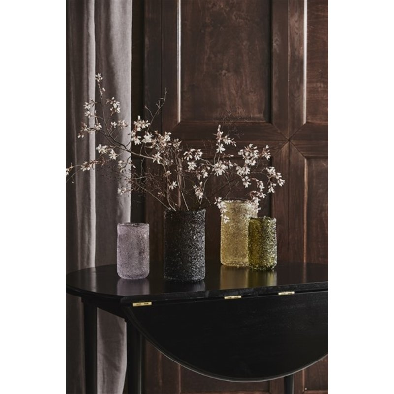 Nordal-collectie CLYDE vase, L, brown