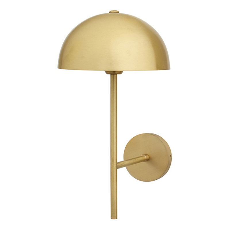 Nordal-collectie DIONE wall lamp, golden