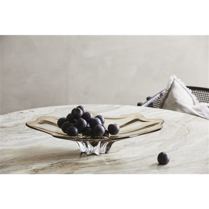 Nordal-collectie ERIE round dining table white marble top