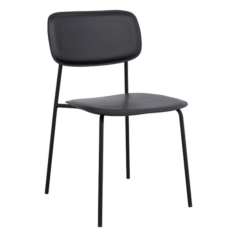 Nordal-collectie ESA dinning chair, black