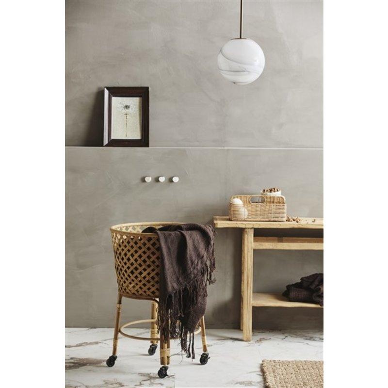 Nordal-collectie FAUNA pendant lamp M, w/golden top